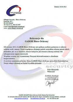 Referencje Gabor Security
