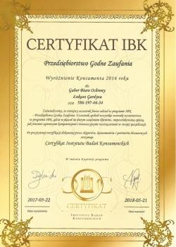 Referencje Gabor Security IBK